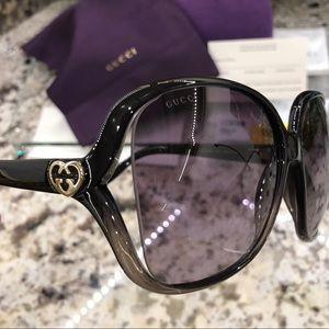 GUCCI 60mm oversize square sunglasses